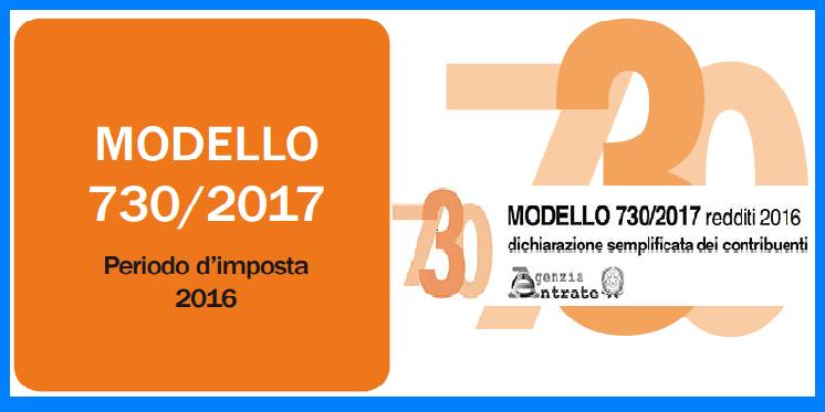 Modello Precompilato 730 2017 Scadenze E Novita